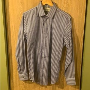 Ted Baker London 16.5 purple dress shirt